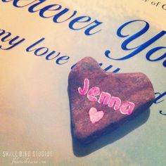 Heart Rock #1000gifts