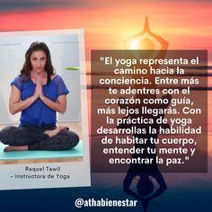 Frase sobre el Día Internacional del Yoga - Raquel Tawil para Atha Bienestar Frases, International Day Of, Wellness
