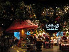Rainforest Cafe   Nashville, Tennessee ★★★