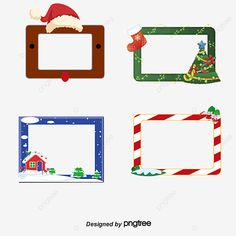 Christmas Frames, Christmas Tag, Banners, Cute Wallpapers, Projects To Try, Clip Art, Symbols, Holiday Decor, Creative