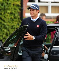 Adam Scott at the Open Championship. #Golf #Rolex #RolexOfficial