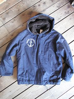 Vintage Marine Nationale Deck Jacket