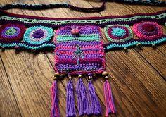 crochet utility belt