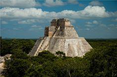 Zona Arqueologica de Uxmal. Merida Yuacatan