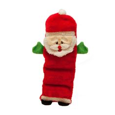 Outward Hound Kyjen 32108 Invincibles Plush Santa Squeaking Stuffingless Durable Dog Toy with 5 Squeakers Medium Red -- See this great product. (This is an affiliate link) Toy Puppies, Pet Puppy, Online Pet Supplies, Dog Supplies, Dog Chew Toys, Cat Toys, Durable Dog Toys, Cute Dog Collars, Dog Christmas Gifts