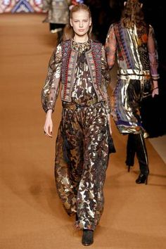 Etro Fall 2014 Ready-to-Wear Collection Slideshow on Style.com