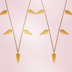 WEBSTA @ jiyajewellery - Say it five times with our gorgeous love heart necklace. @wolfandbadger