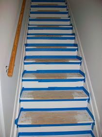 How To Paint Stairs Fun Project. Our Stairs Have Been Painted Two Many  Times To Count Over The Last 30 Years.