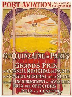 Port Aviation oct. 1909 - Meetings Aériens - Programmes Historiques et Publicités