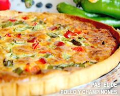 Cook your quiches! Healthy Diet Recipes, Real Food Recipes, Cooking Recipes, Yummy Food, Quiches, Tapas, Vegetarian Quiche, Puff Pastry Recipes, Quiche Recipes