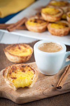 Portuguese Custard Tarts are the most iconic Portuguese dessert. The famous Pastéis de Belém (original tart) are actually a tourist attraction in Portugal!
