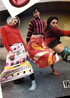 Nirvana in Dries Van Noten, 1993 haha fun :)