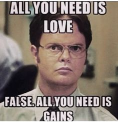 All about dem gains!