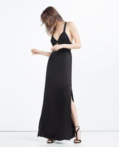 Image 1 of LONG CAMISOLE DRESS from Zara