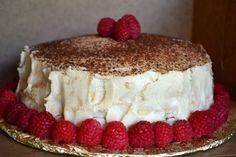 Mille-crepe tiramisu cake, 30+ layers of crepes and mascarpone goodness!