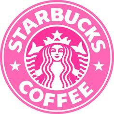 Pink Starbucks Logo