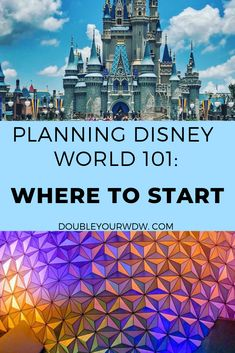 Where do you start when you plan your Walt Disney World vacation? Find out how to budget your vacation, how long to spend at Disney World, what types of tickets to get and Disney Hotels, Disney World Resorts, Disney World Parks, Disney Vacations, Disney Trips, Disney Travel, Disney Vacation Planning, Disney World Planning, Vacation Ideas