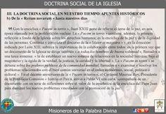 Misioneros de la Palabra Divina: DOCTRINA SOCIAL DE LA IGLESIA ( CAP II )