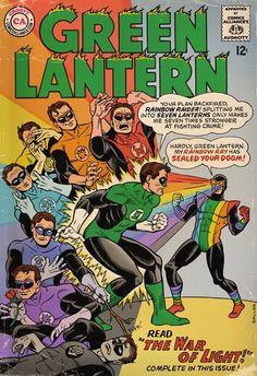 Green Lantern vs The Rainbow Raider