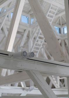 LNMM - Latvian National Museum of Art #lighting #project - Sunrise projector