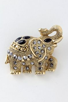 jeweled elephant brooch jewelry - Bing Images
