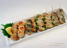 Caprese Salad Skewers, Japanese Food, Diet Recipes, Sushi, Nom Nom, Food And Drink, Cooking, Breakfast, Ethnic Recipes