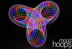 Mood Hoops 'Neon' hoop. This is the LED hoop that I want!