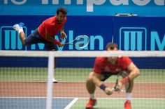 7/17/14 Via Washington Kastles:    Leander Paes and Bobby Reynolds defeated Marcelo Melo and Frank Dancevic 5-3 in men's doubles, forcing overtime.  But Dancevic saved 3 break points in the first game of OT to serve out the match so, Philadelphia Freedoms defeat #Kastles 22-15.  In the #WTT Eastern Conference standings, Washington (7-2) now holds a 2-match lead on Philadelphia (5-4) with 5 matches to go. #RefuseToLose