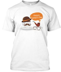 Father's Day Tshirt   Limited Edition  White T-Shirt Front