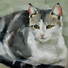 """Michel"" - Original Fine Art for Sale - ©Cheryl Wilson"