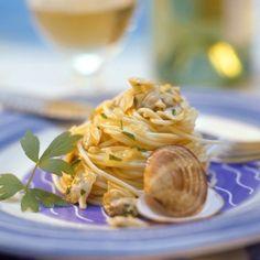 Recette de Spaghetti alle vongole (spaghettis aux palourdes)