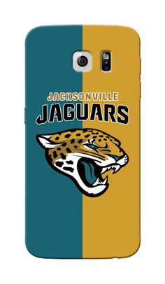 Fully Custom Made Samsung Galaxy S6 case for NFL Jacksonville Jaguars fans