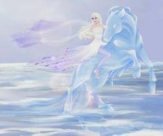 beauty, disney e Queen imagem no We Heart It Frozen Art, Disney Frozen 2, Elsa Frozen, Sailor Princess, Disney Princess, Frozen Snow Queen, Unicorn Cards, Frozen Images, Watercolor Mermaid
