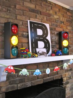 Car birthday, several cute ideas