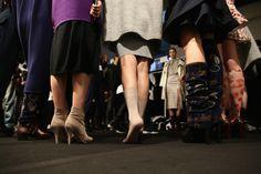 #AsliJackson #Backstage #MercedesBenzFashionWeekIstanbul #Fall #Winter2015 #Nasreddin #Hoca #model #shoes