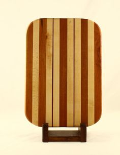 Cherry Maple & Bloodwood Butcher Block Cheese by BlueMtnWoodworks, $60.00
