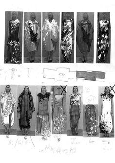 Fashion Sketchbook - fashion sketches; fashion design process; fashion portfolio // Paul Thomson