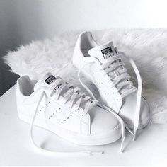 White sneakers go with any outfit!