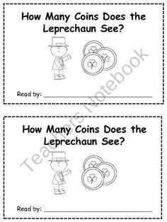 Differentiated St. Patricks Day Emergent Readers product from Klever-Kiddos on TeachersNotebook.com