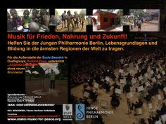 Music for Peace! Please support us!