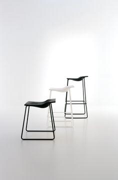 Viccarbe Nice Indoor + Outdoor stools by Patricia Urquiola - Design Tales Agencies