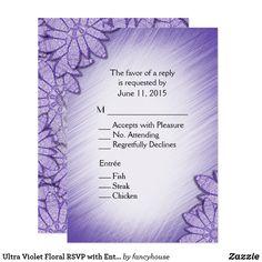 Ultra Violet Floral