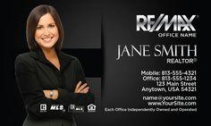 Elegant Remax Business Card