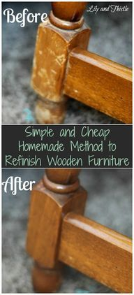 Simple and Cheap home ideas cup, cheap homemad, old furniture, wood furniture, olive oils, apple cider vinegar, homemade recipe, refinish wooden, wooden furniture