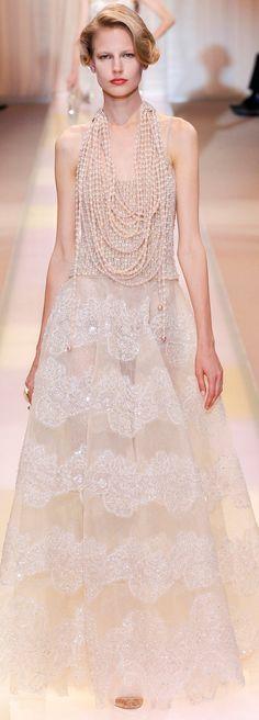 Fall 2013 Couture Armani Privé