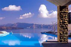 Trip planning and custom honeymoons to landscape-enhanced retreats around the globe. Santorini Hotels, Santorini Island, Santorini Greece, World Pictures, Luxury Life, Where To Go, Trip Planning, Places To Visit, Landscape