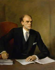 Director General of the BBC – Sir John Reith , 1934 by Oswald Birley (1880-1952)
