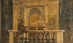 Gaspare Diziani fresco in The Music Ballroom, Ca'Sagredo Hotel, Venice, Italy. http://www.thefittraveller.com.au/stay/italy-casagredo-hotel-venice/