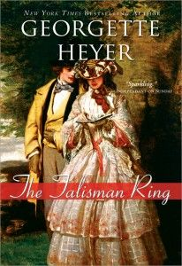 Georgette Heyer :) The Talisman Ring -- an excellent romance, involving smugglers and murder, oh my!