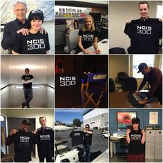 NCIS casts supporting MusiCorps through NCIS 300th t-shirts